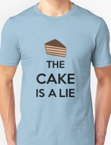 The Cake Is A Lie Unisex T-Shirt