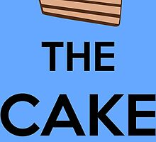 The Cake Is A Lie by Kreativista