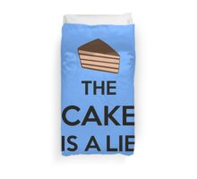 The Cake Is A Lie Duvet Cover