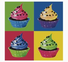 Cupcake Pop Art by cultclothingco
