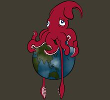 Terra-Cephalopod Womens Fitted T-Shirt