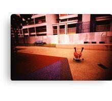 Abandoned Playground - Lomo Canvas Print