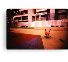 Abandoned Playground - Lomo Canvas Print