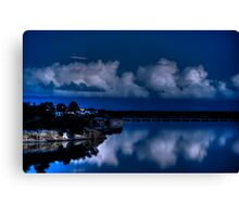 Midway Point Canvas Print
