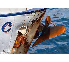 Oxidised bow Photographic Print