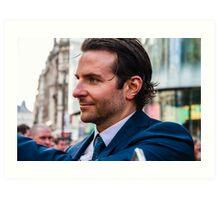 Bradley Cooper Art Print