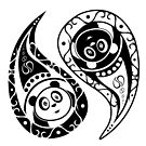 Yin-Yang Panda by Adamzworld