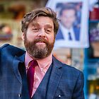 Zack Galifianakis by Paul Bird