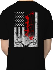 Bow Hunting USA Flag Classic T-Shirt