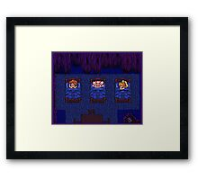 Sleepy Secret of Mana Framed Print