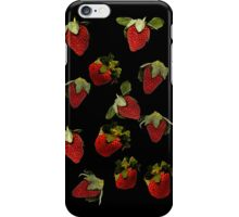 strawberries iPhone Case/Skin