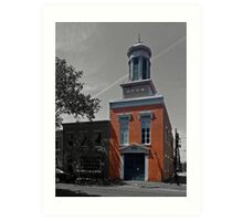 Friendship Firehouse - Alexandria, VA Art Print
