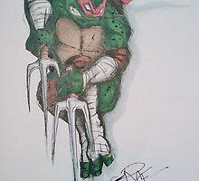 TMNT Raphael Rage by pinkyranger