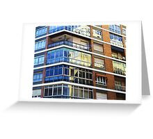 Glassy View  Greeting Card