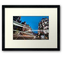 London Cityscapes Framed Print