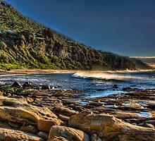 Coalcliff Beach by Chris Brunton