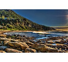 Coalcliff Beach Photographic Print