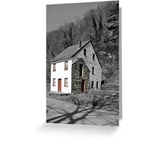 Little House in Harpers Ferry, WV Greeting Card