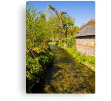 St Mary Bourne Canvas Print
