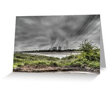 Fiddlers Ferry Power Station Greeting Card
