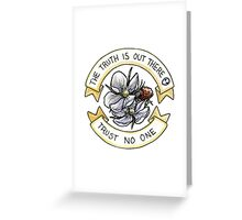 The Truth is Out There (Respberries) Greeting Card
