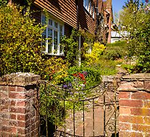 St Mary Bourne Garden by mlphoto