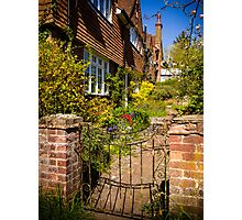 St Mary Bourne Garden Photographic Print