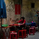 Bangkok SideStreet Restaurant by Duane Bigsby
