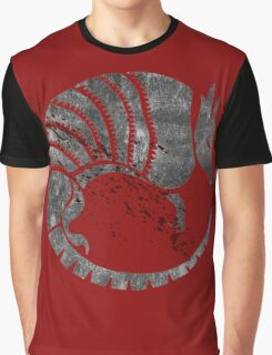 Red Armadillo of The Fort Graphic T-Shirt