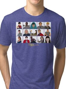 Characters Of Merlin Tri-blend T-Shirt