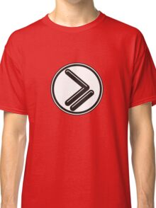 Greater than or Equal to - wht back Classic T-Shirt