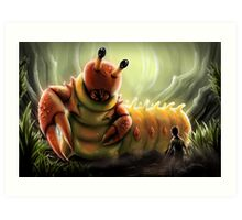 Crabapillar Art Print