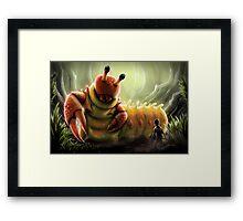 Crabapillar Framed Print