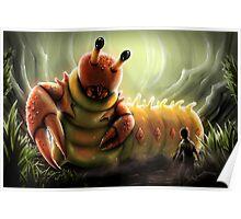 Crabapillar Poster