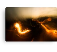 The Fires of London Canvas Print