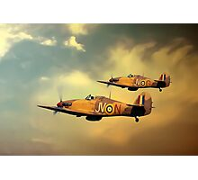 6 Squadron Hurricanes Photographic Print
