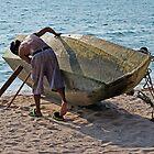 Beach Boatman by DonMc
