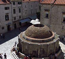 Onofrio Fountain, Dubrovnik by wiggyofipswich
