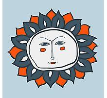 Sun face Photographic Print
