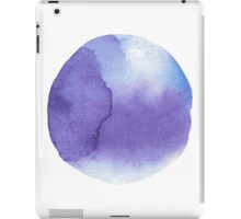 watercolor stains, background, design element, pattern. iPad Case/Skin