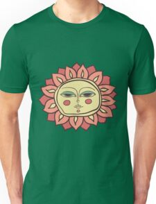 Sun face Unisex T-Shirt