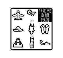 Take me to the beach by Emma Harckham