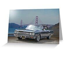 1965 Chevrolet Chevelle VIII Greeting Card