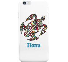 Abstract Rainbow Hawaiian Sea Turtle iPhone Case/Skin