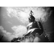 Buddha Up In The Clouds - Lomo Photographic Print