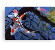 X Marks Pisces Canvas Print
