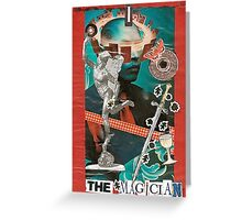 The Magicianot Greeting Card