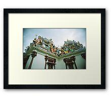 An Imposing Gallery - Lomo Framed Print