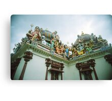 An Imposing Gallery - Lomo Canvas Print
