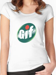 GIF  Women's Fitted Scoop T-Shirt